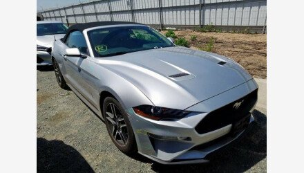2019 Ford Mustang Convertible for sale 101329387