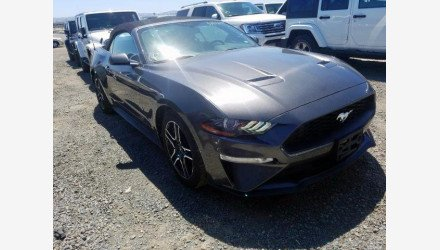 2019 Ford Mustang Convertible for sale 101330420