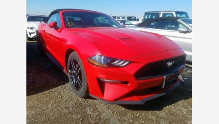 2019 Ford Mustang Convertible for sale 101330444