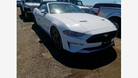 2019 Ford Mustang Convertible for sale 101330446