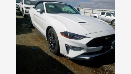 2019 Ford Mustang Convertible for sale 101330448