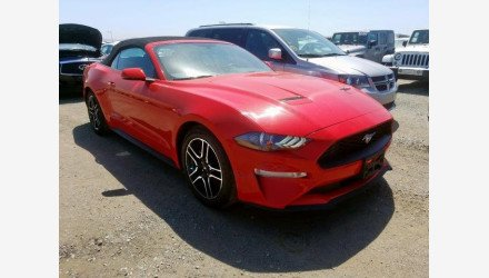2019 Ford Mustang Convertible for sale 101331266