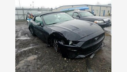 2019 Ford Mustang Convertible for sale 101331367