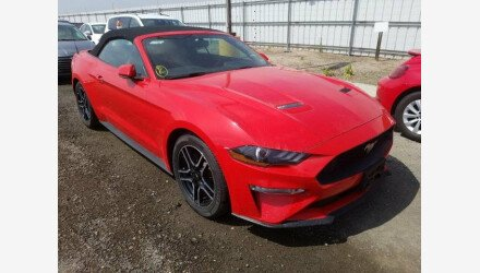 2019 Ford Mustang Convertible for sale 101331374