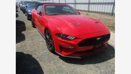 2019 Ford Mustang Convertible for sale 101331380