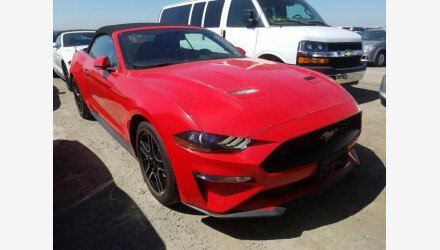 2019 Ford Mustang Convertible for sale 101331416