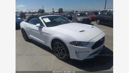 2019 Ford Mustang Convertible for sale 101337434