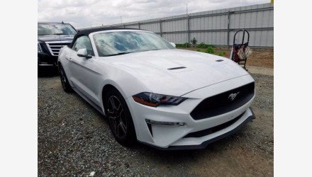2019 Ford Mustang Convertible for sale 101339729