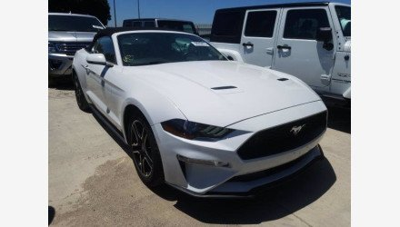 2019 Ford Mustang Convertible for sale 101339736