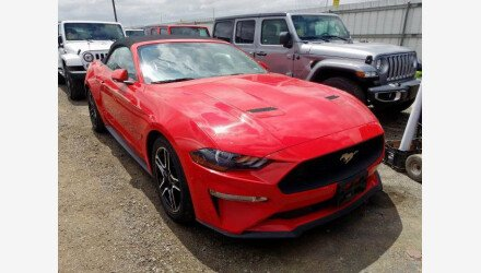 2019 Ford Mustang Convertible for sale 101339739