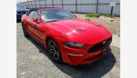 2019 Ford Mustang Convertible for sale 101339741