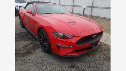 2019 Ford Mustang Convertible for sale 101339748