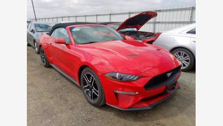 2019 Ford Mustang Convertible for sale 101342087