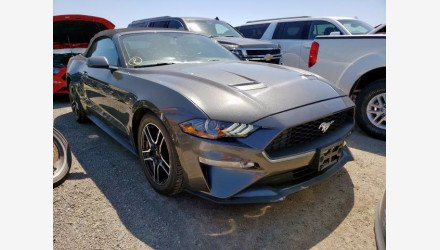 2019 Ford Mustang Convertible for sale 101345031