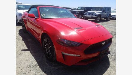2019 Ford Mustang Convertible for sale 101345062