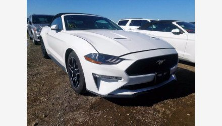 2019 Ford Mustang Convertible for sale 101345084