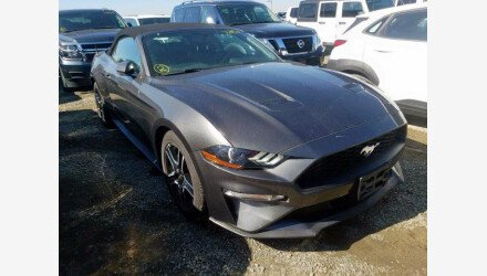 2019 Ford Mustang Convertible for sale 101345087