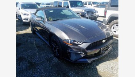 2019 Ford Mustang Convertible for sale 101345088