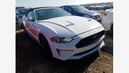 2019 Ford Mustang Convertible for sale 101345089