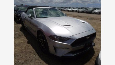 2019 Ford Mustang Convertible for sale 101345101