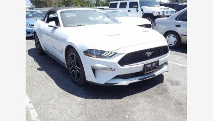 2019 Ford Mustang Convertible for sale 101348932