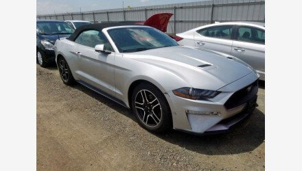 2019 Ford Mustang Convertible for sale 101356766