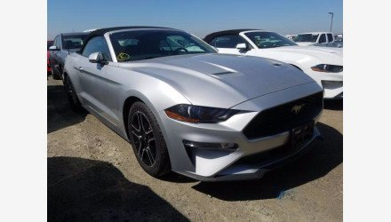2019 Ford Mustang Convertible for sale 101359590