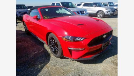 2019 Ford Mustang Convertible for sale 101359597