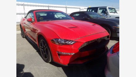 2019 Ford Mustang Convertible for sale 101359604
