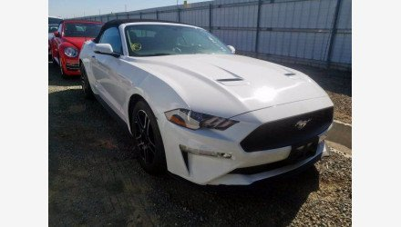 2019 Ford Mustang Convertible for sale 101362666
