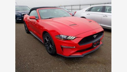 2019 Ford Mustang Convertible for sale 101379022