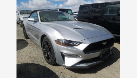 2019 Ford Mustang Convertible for sale 101379033