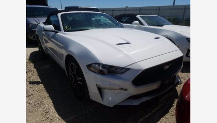2019 Ford Mustang Convertible for sale 101379063