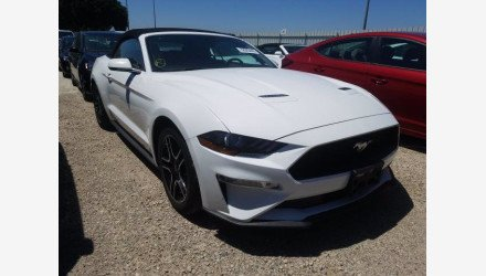 2019 Ford Mustang Convertible for sale 101383538