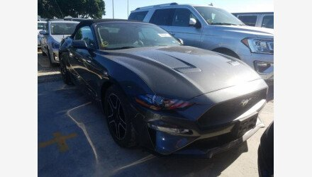 2019 Ford Mustang Convertible for sale 101383540