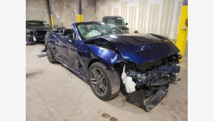 2019 Ford Mustang Convertible for sale 101387278