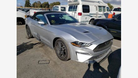 2019 Ford Mustang Convertible for sale 101458252