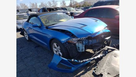 2019 Ford Mustang Convertible for sale 101491693