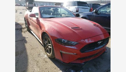 2019 Ford Mustang Convertible for sale 101495004