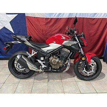2019 Honda CB500F for sale 200936483