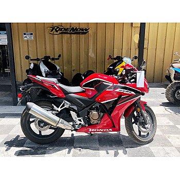 2019 Honda CBR300R for sale 200927505