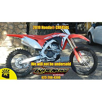 2019 Honda CRF450L for sale 200682139