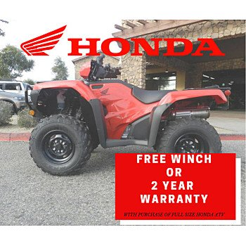 2019 Honda FourTrax Foreman 4x4 ES EPS for sale 200682148