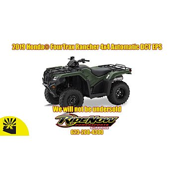 2019 Honda FourTrax Rancher 4X4 Automatic DCT EPS for sale 200808439