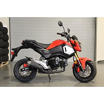 2019 Honda Grom For Sale Near Peoria Arizona 85381 Motorcycles On
