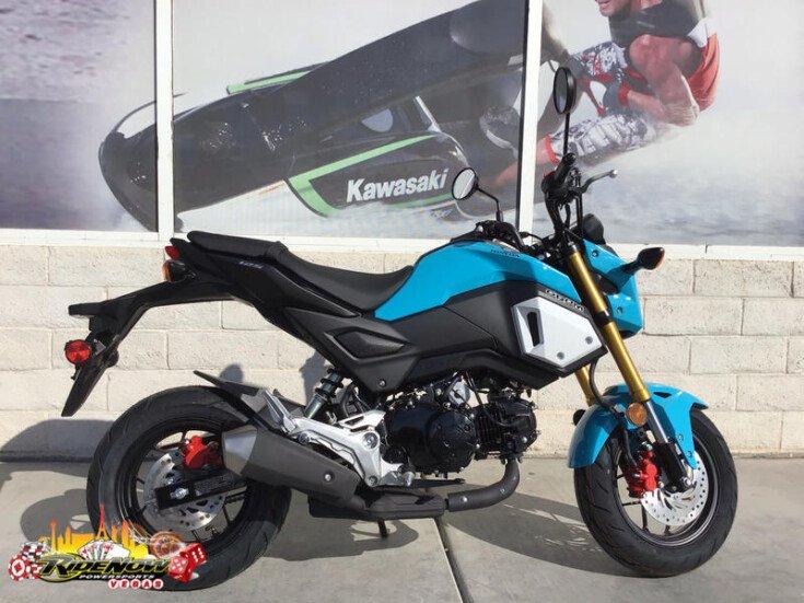 2019 Honda Grom For Sale Near Las Vegas Nevada 89130 Motorcycles
