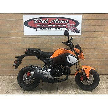 2019 Honda Grom for sale 200714095