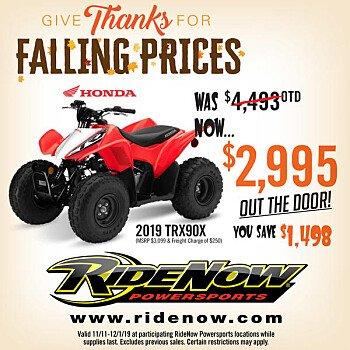 2019 Honda TRX90X for sale 200688029