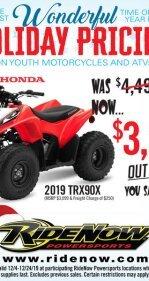 2019 Honda TRX90X for sale 200846385