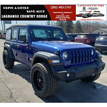 2019 Jeep Wrangler 4WD Unlimited Sport for sale 101081803
